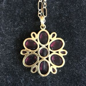 Julie Jewelry - Julie collection pink tourmaline pendant necklace